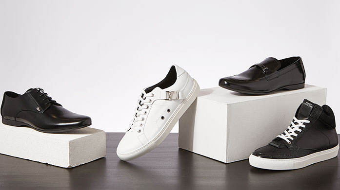Versace Collection: Men's Shoes Step up your style game with the Versace Collection of Men's Shoes. Finish your look with modern sophistication in the form of a trainer or brogue.