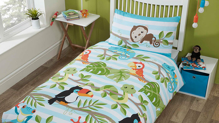 Kids Bed Linen Make bedtime a fun family routine with colourful bed linen featuring a range of furry friend designs. Otterly amazing!