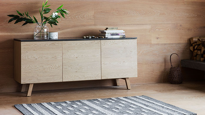 Loft Living Furniture by Gallery Shop new, modern furniture for your home from oval coffee tables to rustic sideboards and wooden shelving units.