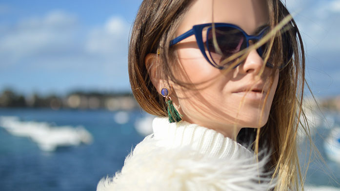 All Eyes on Me Ensure you're the centre of attention with a fabulous pair of designer sunglasses and luxury faux fur coat.