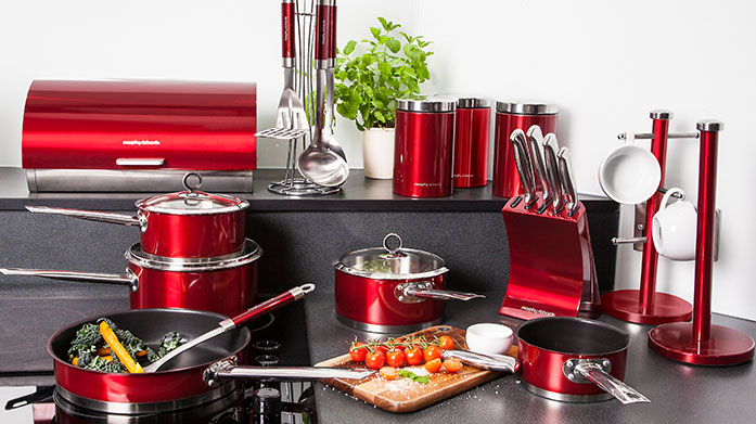 Morphy Richards Discover premium quality pots and pans, utensils, kettles and other stylish kitchen essentials from leading homeware giant, Morphy Richards.