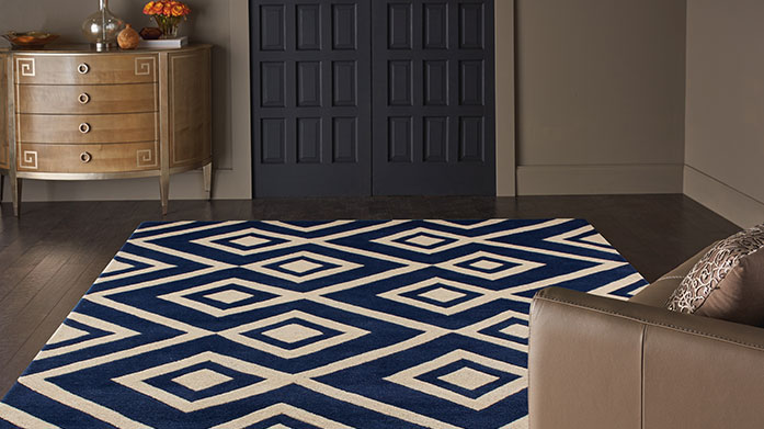 Statement Size Rugs Make a bold statement in your home with a vibrant, colourful rug from our collection of geometric, striped and traditional rugs.
