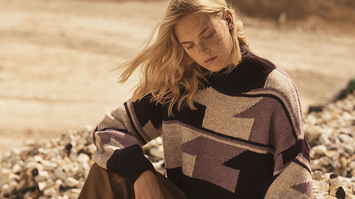 Reiss & Whistles Womenswear Glide seamlessly into winter with our selection of Reiss and Whistles clothing, featuring textured knitwear, feminine dresses and print blouses. Knits from £25.