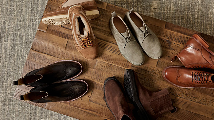 It's All About You! Men's Shoes The search for your solemate has just begun. From casual everyday pairings to smarter styles for future date nights, step out in style wearing one of these...