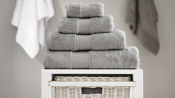 Anti-Bacterial Towels  Wrap yourself up in Bliss Pima Cotton, now with added anti-bacterial technology from Deyongs.