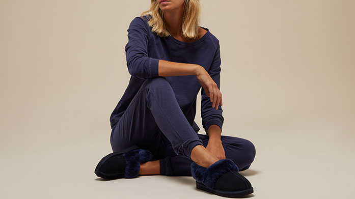 Love To Lounge Lounge in stlye with our edit of loungewear, sheepskin slippers, candles, skincare and more.