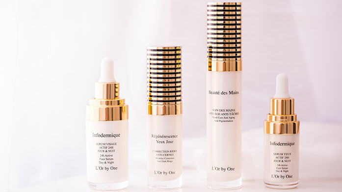 L'Or by One Anti Ageing Skincare For the radient glow of youth this summer, trust in L'or by One for anti wrinkle serums, hydating creams and more.