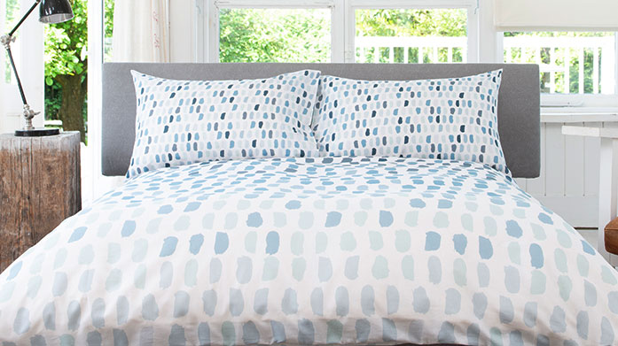 Lobster Creek Bed Linen & Towels Turn your bedroom into a blue haven with patterned linens and towels, including beach house prints, tonal stripes and more.