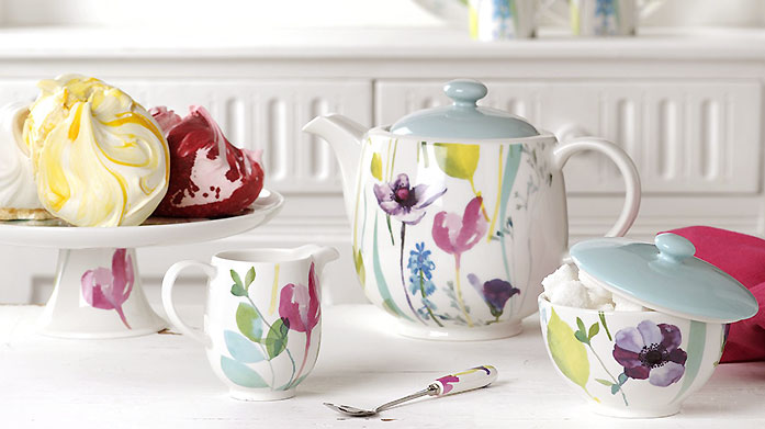 Portmeirion Brands Discover all your favourite Portmeirion collections in our latest edit. Choose from bowls, plates, tin sets and more.