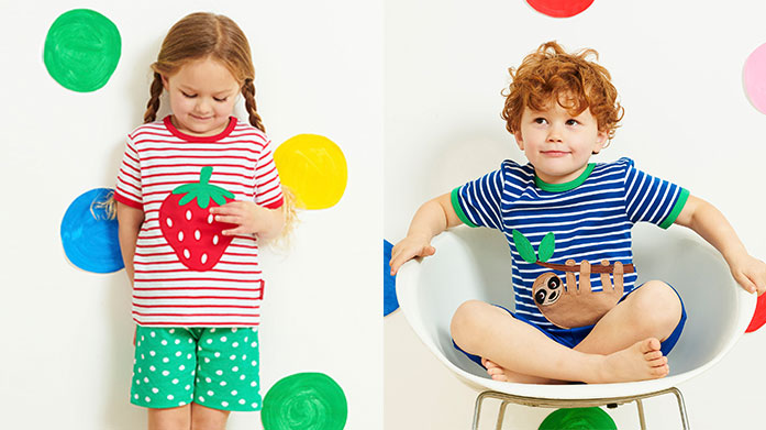Toby Tiger Discover organic childrenswear in fun and timeless designs by British brand, Toby Tiger. Shop babygrows, t-shirts and more!