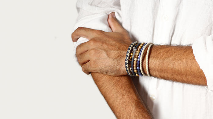 Best Dressed Men's Accessories Be the best dressed man in the room with a suave accessory. Shop leather bracelets, gold chains and silver cufflinks.