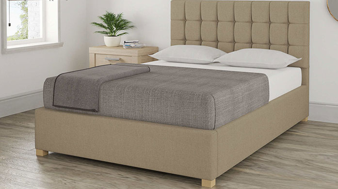 Handcrafted Ottoman Beds A stylish yet functional ottoman bed frame is the perfect solution for all your bedroom storage needs.