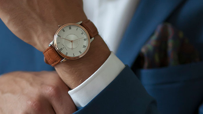 New Season New Watches for Him For a timeless timpiece look to our latest collection of men's luxury watches. Choose from a range of elegant designs.