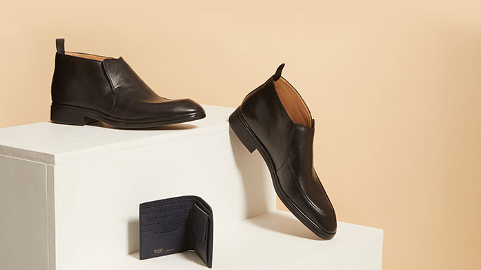 Bally Mens For the Bally gentleman we've got impeccably crafted leather loafers, suede ankle boots and classic derbies.