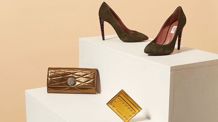 Bally Womens  Discover all things Bally in our latest women's edit! There's luxe leather boots, heels and sandals, stud purses and classic 'B' keyrings.