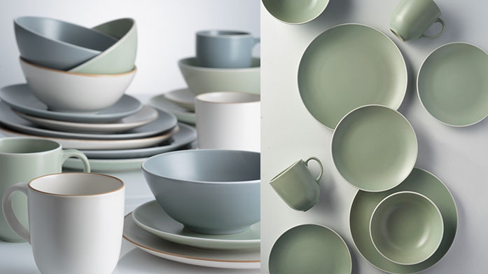 Mason Cash Tableware Take your kitchen game to the next level with this range of sleek cookware and tableware from iconic homeware brand, Mason Cash.