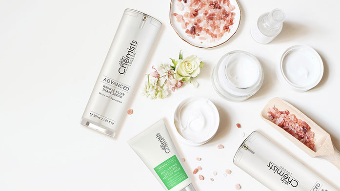 Skin Chemists skinChemists' range of anti-ageing, rejuvenating products are just what your skincare routine needs this winter. Shop now and get the glow.