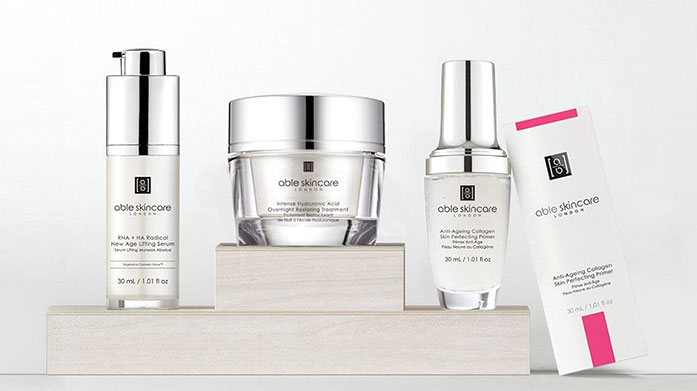 Able Skincare Hyaluronic + Retinol Protect, hydrate and rejuvenate your skin with Able's range of active ingredient skin care containing hyaluronic acid and retinol.