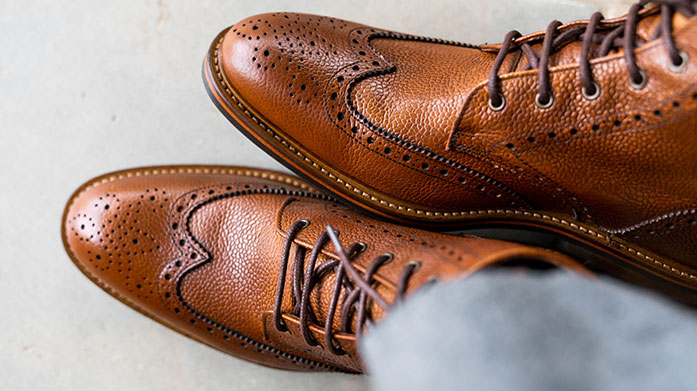 John White Brogue Boots & Shoes John White: the masters of the finest gentlemen's footwear for over 100 years. Shop their timeless men's chelsea boots and brogues.