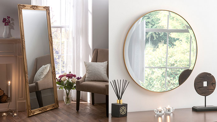 Yearn Mirrors Bring light and new texture into your home with Yearn Mirrors' range of baroque, antique-style, classic wall mirrors and leaner mirrors.