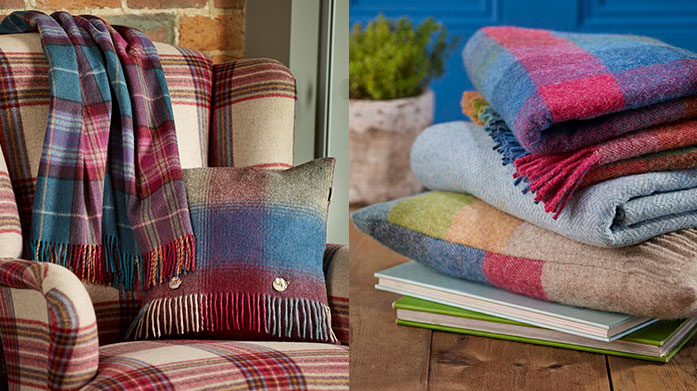 Bronte by Moon Throws Ensure you wrap up warm this winter in an ultra-soft throw by Bronte by Moon. There's a classic pattern for every home...