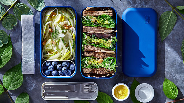 Monbento Refresh your meal prep and eat healthily with Monbento's range of stylish lunch boxes, cutlery, flasks and matching bottles.
