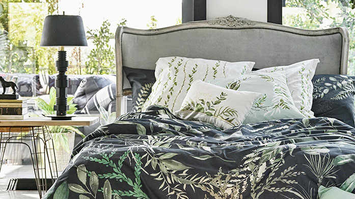 Happy Friday Bed Linen  Discover luxury bed linen in a range of chic colours and prints. Shop duvet covers, cushion covers and more.