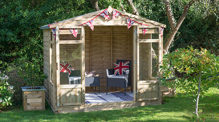 Forest Garden Revamp your garden and outdoor space with garden sheds and summerhouses from Forest Garden Solutions.