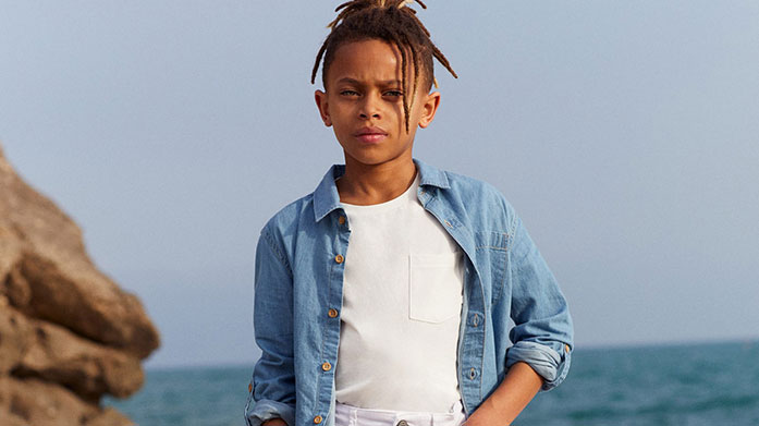 Mini Spring Styles for Him Refresh his look just in time for spring with colourful T-shirts, casual favourites and easy separates from Disney, Calvin Klein and more. Available in ages 0-16 Years.