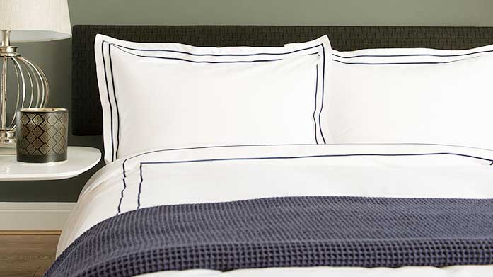 The White Room Bed Linen Redress your guest room with this collection of stunningly crisp bed linen from The Lyndon Company.