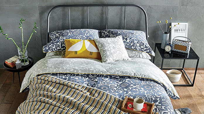 Further Reductions: Bedding Further reductions on top-range bed linen from homeware favourites including Sanderson Home, Scion and DKNY.