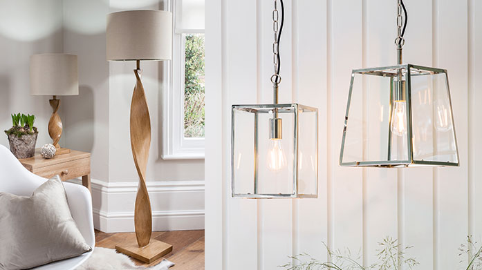 Gallery Lighting Light up summer evenings with a new lighting fixture or lamp by Gallery. We guarantee there's a style and shade for every home.