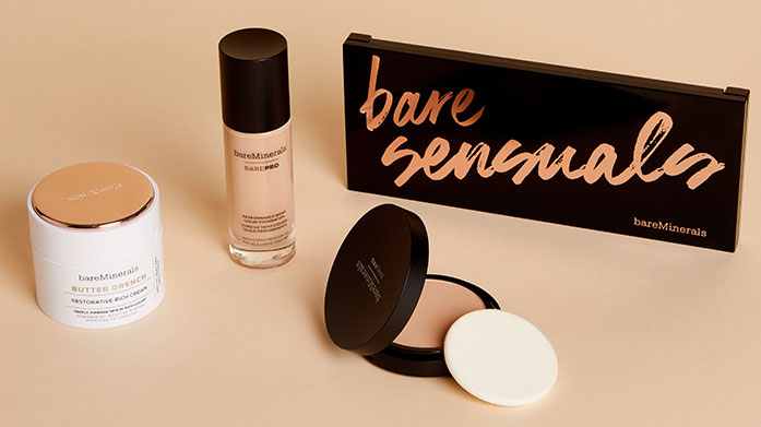 BareMinerals Look and feel fantastic with the natural, clean formulas of bareMinerals. Keep chemicals and nasties off your skin and the environment!