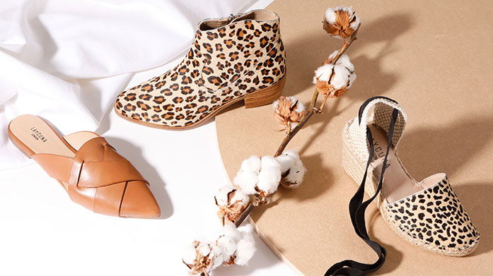 Get Your Print On! Our edit of wow-factor footwear will elevate your style to the next level. Shop leopard print, snake print, florals, stripes and more!