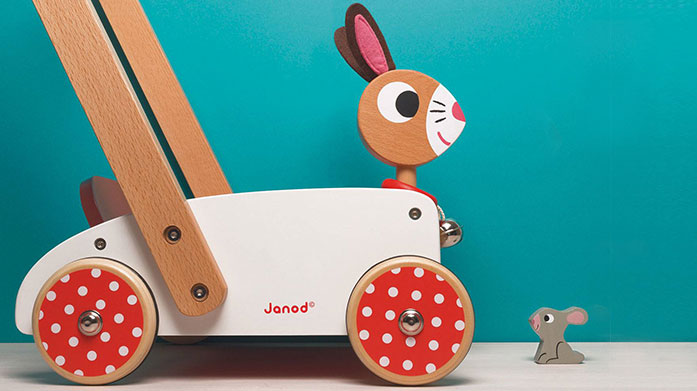 Janod Wooden Toys It's play time! Shop quality wooden toys from Janod including balancing bikes, chunky puzzles and educational games.