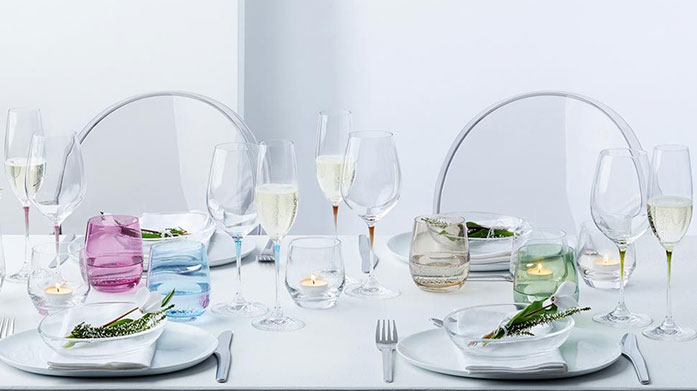 Leonardo Glass Beautiful Italian-inspired homeware from Leonardo Glass includes champagne flutes, wine glasses, tumblers, decanters and more.