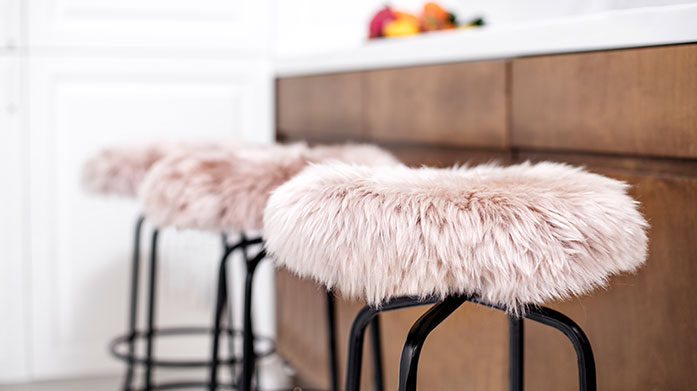 Royal Dream Sheepskin Crafted from a soft, long and fluffy pile, Royal Dream's sheepskin rugs, stools and cushions are the perfect luxury home accent.