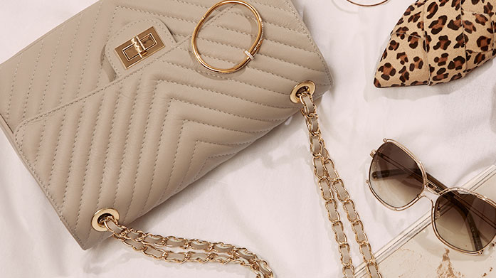 Accessories Fit For a Party Did someone say party? Ensure you're the best dressed guest in a stunning piece of jewellery and designer handbag to match.