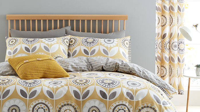 Catherine Lansfield Bed Linen   Transform your bedroom with this colourful and vibrant bed linen collection from Catherine Lansfield. Shop duvet sets, sheets and pillowcases.