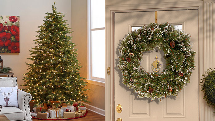 The National Tree Company 'Tis the season to be jolly! Get into the festive spirit and choose your next decoration from our collection of artificial Christmas trees and wreaths.
