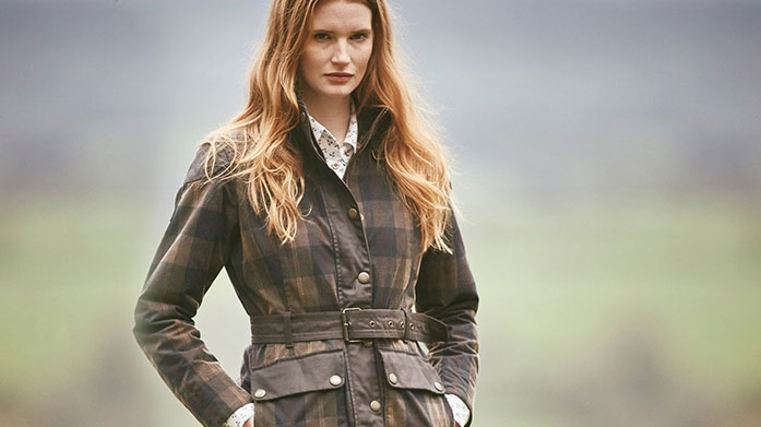 Weekend in the Country Women's Enjoy a quaint weekend in the beautiful countryside with a new jacket, gilet, pair of boots and trousers from Jaeger, Gant, Whistles and more.