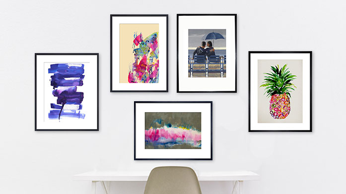 Art Lover's Gifts Give the gift of art this Christmas with a vibrant painting or framed print any art connoisseur will love.