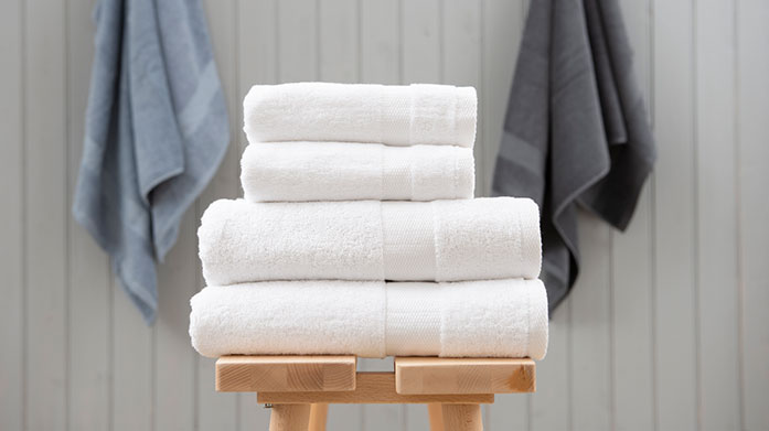 Luxury 680gsm Towels Envelop yourself in sumptuously soft 680 GMS towel, made from the finest cotton. Shop hand towels, bath sheets and bath towels.