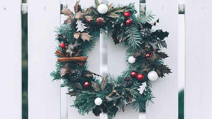 Christmas Trees, Wreaths & Garlands Turn your ho-ho-home into a winter wonderland with these stunning wreaths, garlands and deluxe Christmas trees.
