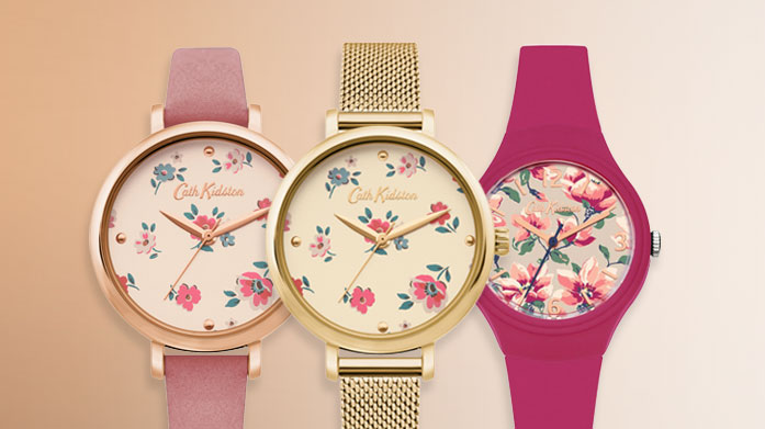 Cath Kidston Watches For a vintage-inspired accessory with a modern twist, choose a women's watch from quintessentially British brand, Cath Kidston.