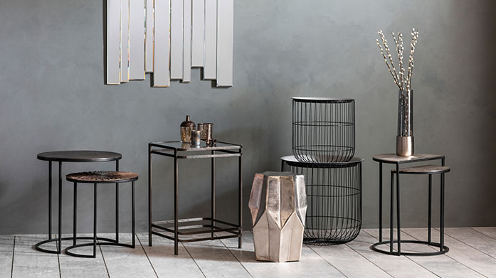 Furniture to Go Give your home a stylish boutique feel with various accent tables, chairs or shelving from the best of our brands.