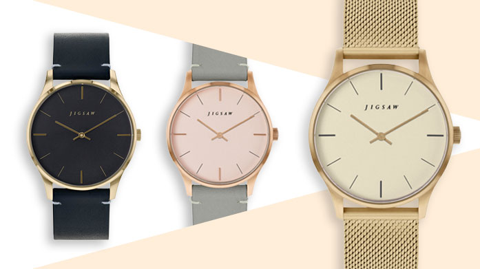 Jigsaw Watches Find chic accessories to complement your style from our new edit of Jigsaw watches. There's a style and design for every woman...