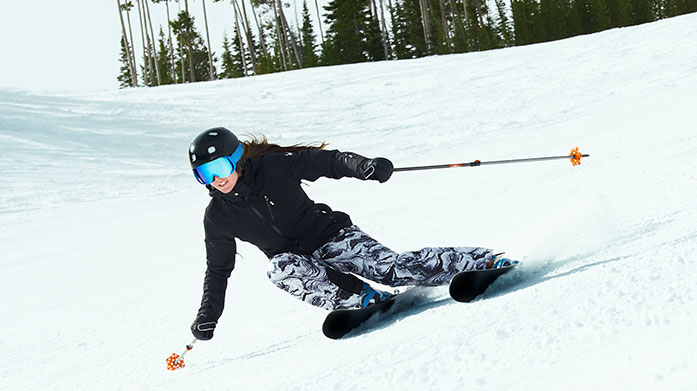 Spyder Clearance Women's Take to the slopes in your most stylish outfit yet from our Spyder clearance sale. Shop bold and bright ski jackets, salopettes and thermal base layers.