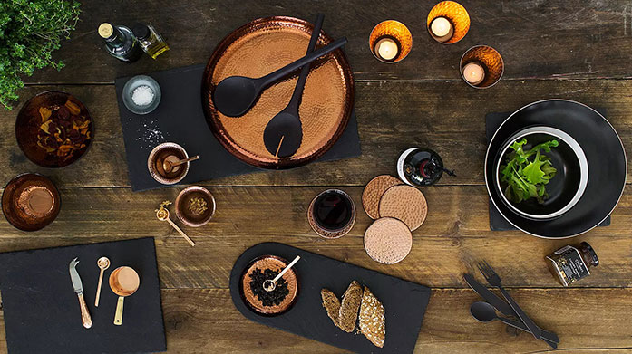 Just Slate Upgrade your tableware with The Just Slate Company. Shop coasters, serving boards and more.
