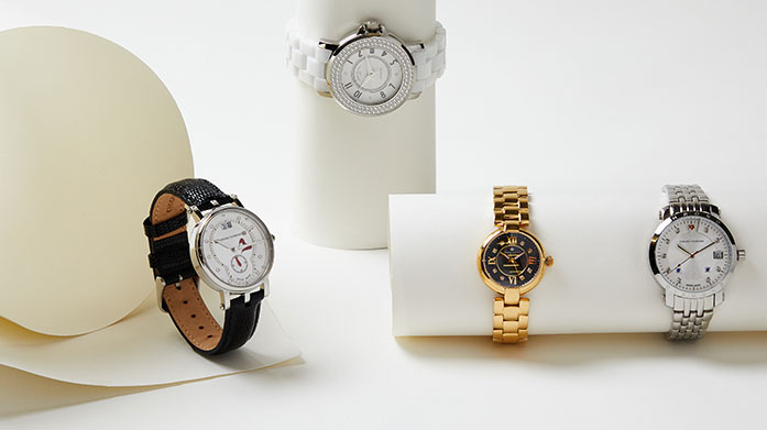 Luxury Watches for Her  Time for a new watch! Choose your favourite from this luxe collection of stunning women's watches.